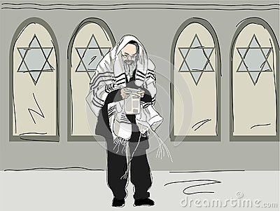 Religious after attending synagogue
