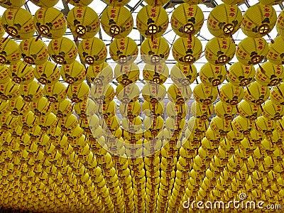 Religious lanterns