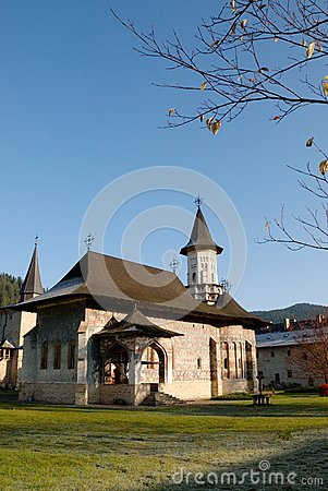Religious place in fall season