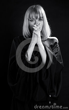 Religious Praying Woman