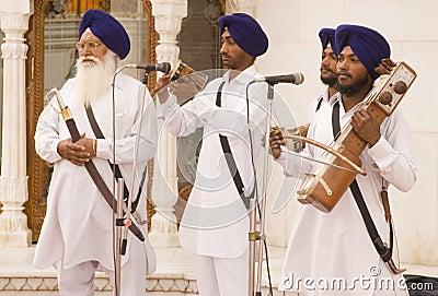 Religious singers Editorial Image