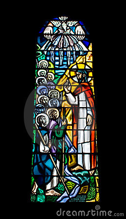 Free Religious Stained Glass Window Stock Photography - 3261852