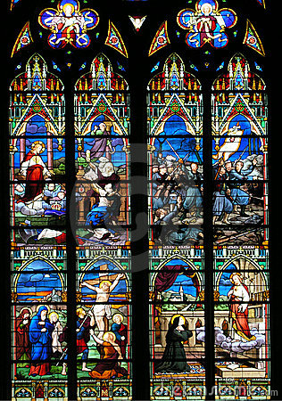 Religious Stained-glass Window