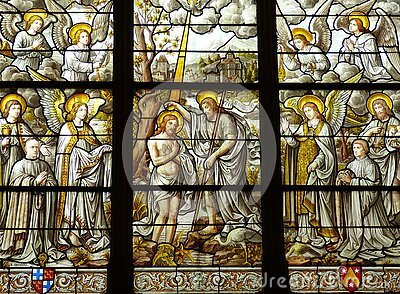 Religious Stained Glass Window Free Public Domain Cc0 Image