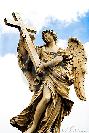 Free Religious Statue From Rome Royalty Free Stock Photography - 8803767