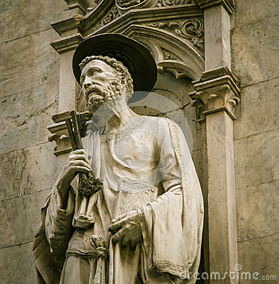 Free Religious Statue Siena Royalty Free Stock Photography - 91190397