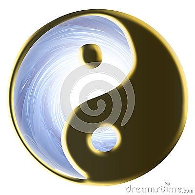 Golden Religious Tao or Tau
