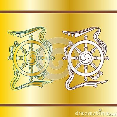 Religious symbol (vector)
