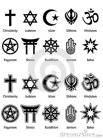 Religious Symbols EPS
