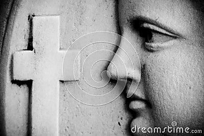 Religious wall detail