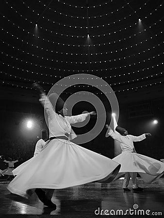 Free Religious Whirligig Dancing Royalty Free Stock Photo - 12399185