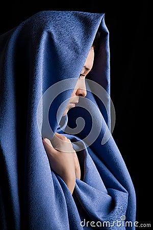 Religious woman