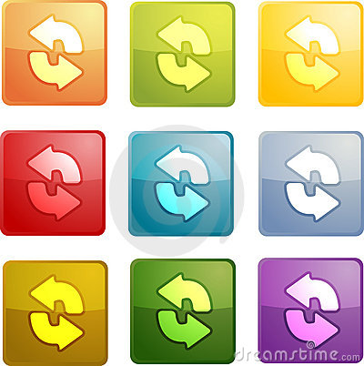 Free Reload Navigation Icon Stock Photos - 8393093