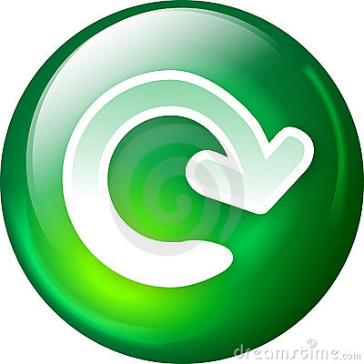 Free Reload Web Button Stock Photos - 2004823