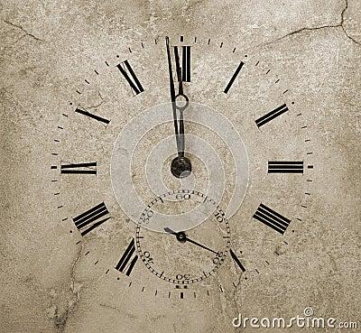 Reloj de piedra