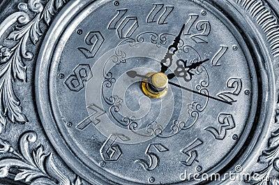 Reloj de plata viejo