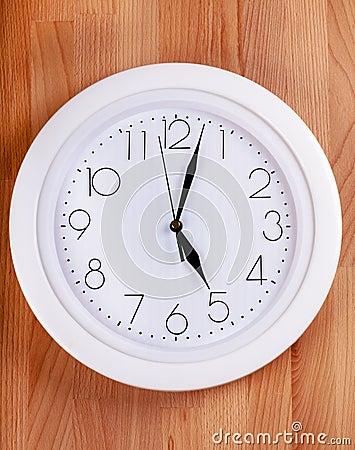 Reloj en una pared