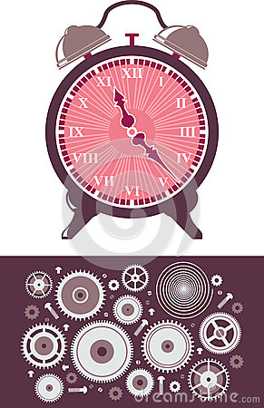 Reloj y engranajes