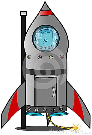 Reluctant boy astronaut