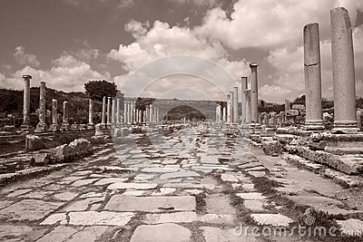 Remains of an ancient Roman