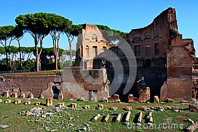Remains of ancient Rome