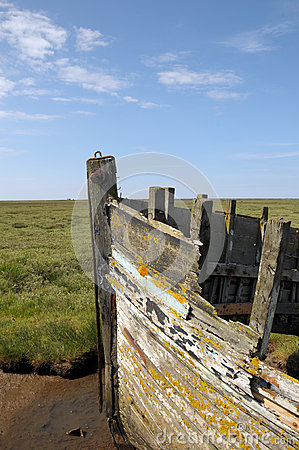 Remains of boat