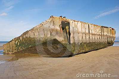 Remains of Mulberry Harbour