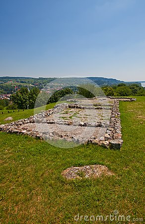 Free Remains Of The Church (IX C.) In Devin Castle. Slovakia Stock Image - 32531861