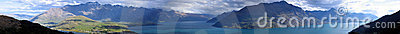 Remarkables Mountains panorama