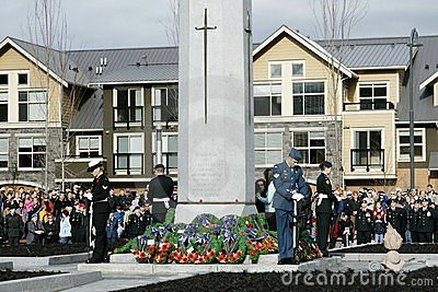 Remembrance Day 2009 Editorial Stock Image