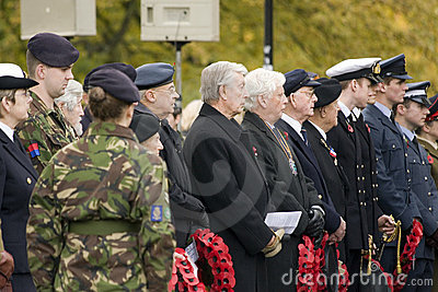 Remembrance day Editorial Stock Photo