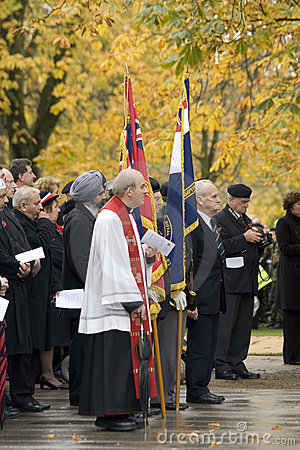 Remembrance day Editorial Photo
