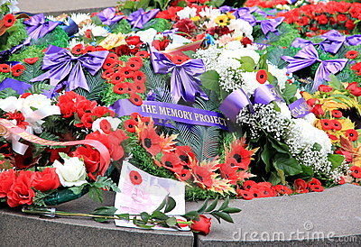 Remembrance Day Memorial Editorial Image