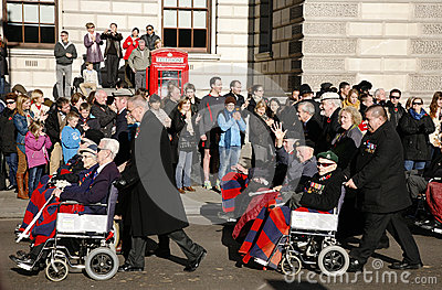 Remembrance Day Parade, 2012 Editorial Image
