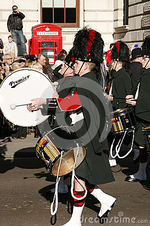 Remembrance Day Parade, 2012 Editorial Photography