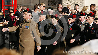 Remembrance Day Parade Editorial Image