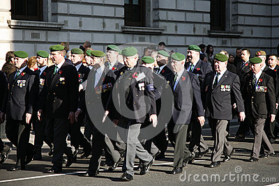 Remembrance Day Parade Editorial Stock Image