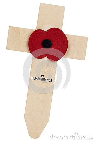 Remembrance Day Poppy - United Kingdom Editorial Stock Photo