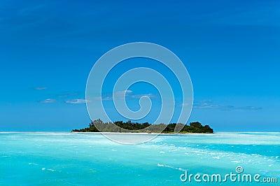 Remote Caribbean Island