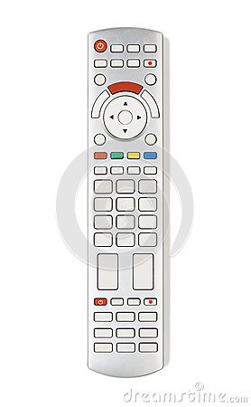Remote control with empty buttons