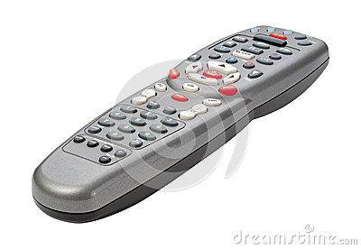Remote Control isolated with clipping path