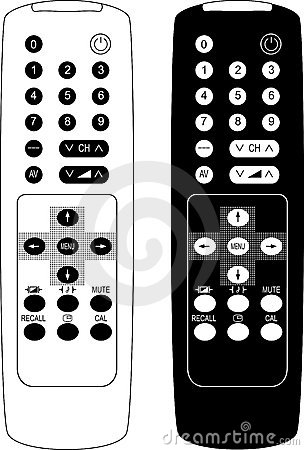 Remote control the TV.