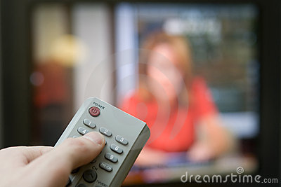 Remote control with TV