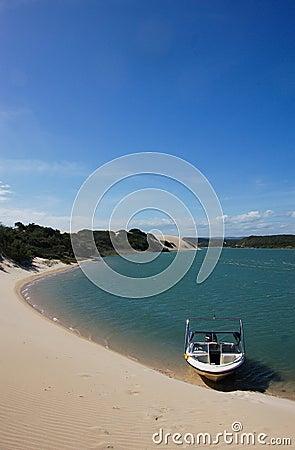 Remote lagoon getaway