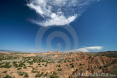 Remote New Mexico Landscape