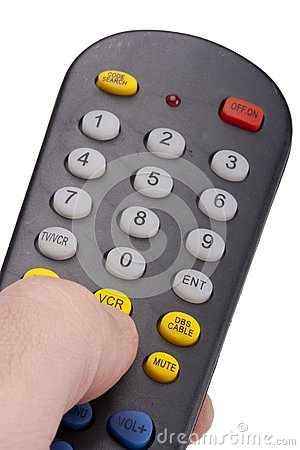 Remote for the TV