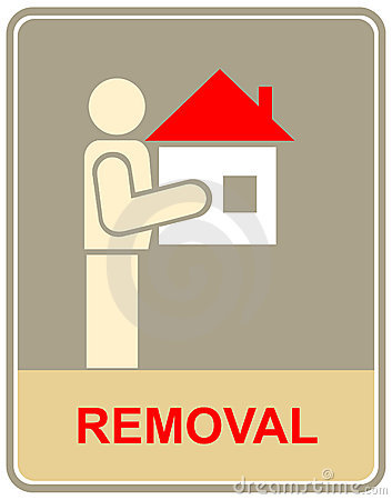 Removal - sign