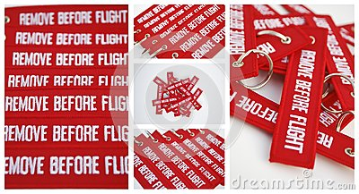 Remove before flight ribbons