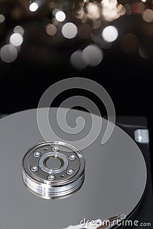 Removed hard disk
