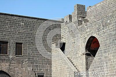Rempart de Diyarbakir.